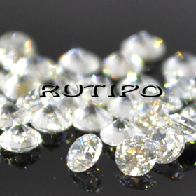 Кубический Цирконий А, Diamond, Clear 1.3мм, шт