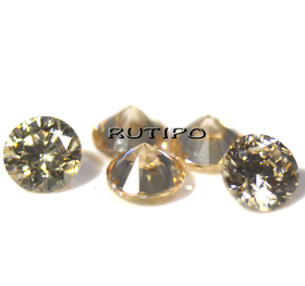 Кубический Цирконий ААА, Diamond, NavajoWhite 2.5*1.7мм, шт