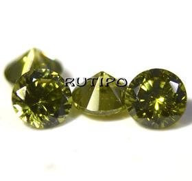 Кубический Цирконий ААА, Diamond, Olive 3*2мм, шт