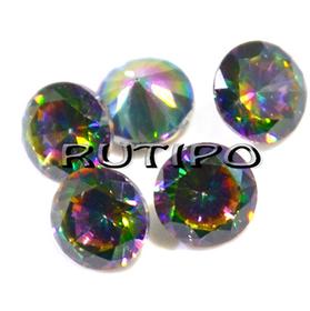 Кубический Цирконий А, Diamond, Colorful 4*2.5мм, шт