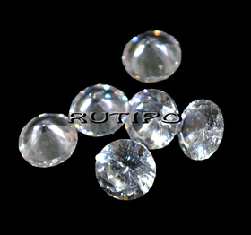 Кубический Цирконий А, Diamond, Clear 6мм, шт
