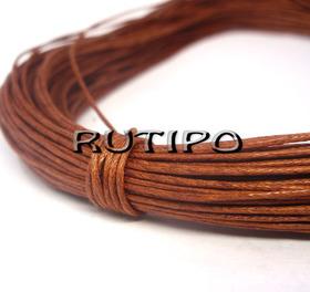 Вощеный шнур светло-коричневый, 1мм*1м