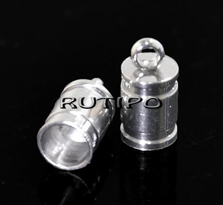 Концевик ювелирная сталь , 10*5мм (в\д 4мм), шт